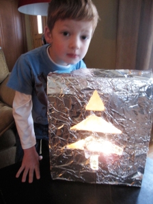 Xmas Tree Lantern