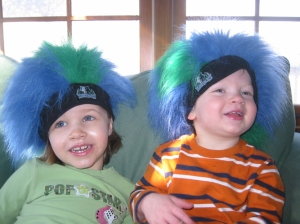 Children: Thing 1 and Thing 2: circa 2007