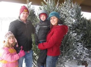 The Family Locates our Tree