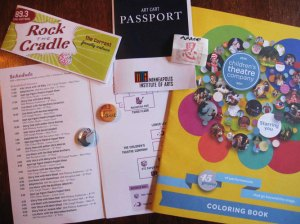 RTC: Passport, Coupons and Coloring Book