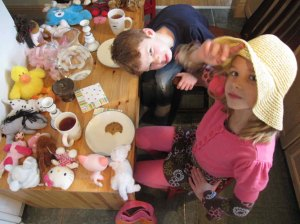 Tea Party Cookie Tasting