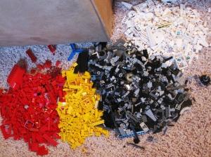 Lego Separation Process