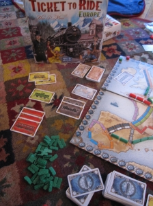 Ticket to Ride... For Hours and Hours