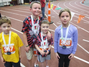 Kids + Their Seriously Heavy Medals