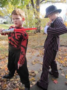 Darth Gangsta Halloween