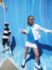 Emulating the Surf Stance at the CA Surf Museum