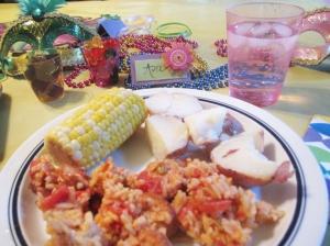 Mardi Gras Mealtime