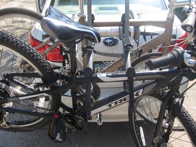 Burley bike hookup