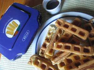 Waffle Strips for Dipping