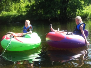 Inner Tube vs Canoe: Inner Wins
