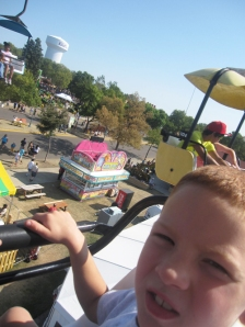 SkyGlider over Kidway