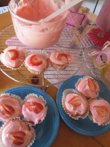 Strawberry Cupcake Love