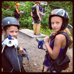 Zip Lining: Ready, Set, Starfish