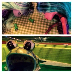 Leprechaun Outsmarted MonsterHigh Ghouls and Frogger