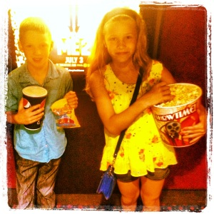 Loaded Up with Popcorn for Despicable Me 2